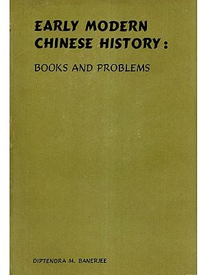 Early Modern Chinese History: Books and Problems (An Old and Rare Book)