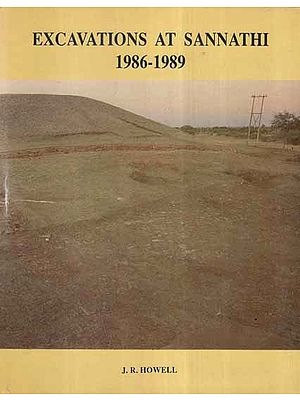 Excavations At Sannathi- 1986-1989 (An Old and Rare Book)