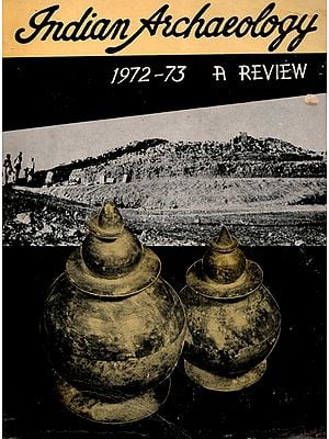 Indian Archaeology 1972-73 A Review (An Old and Rare Book)