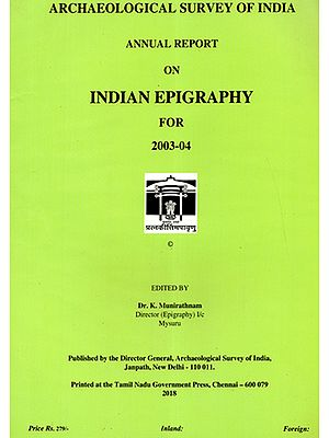 Annual Report on Indian Epigraphy for 2003-04