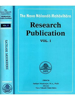 The Nava Nalanda Mahavihara Research Publication (Set of Two Volumes)
