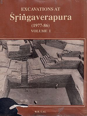 Excavations at Sringaverapuram 1977-86 Volume- 1 (An Old and Rare Book)