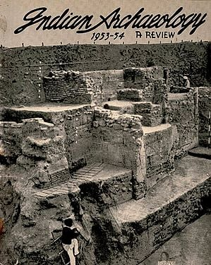 Indian Archaeology 1953-54 A Review (An Old and Rare Book)