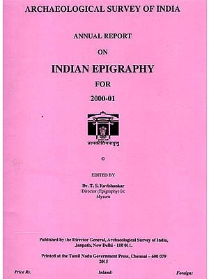 Annual Report on Indian Epigraphy for 2000-01