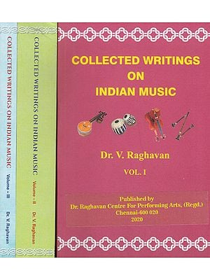 Collected Writings on Indian Music (Set of 3 Volumes)