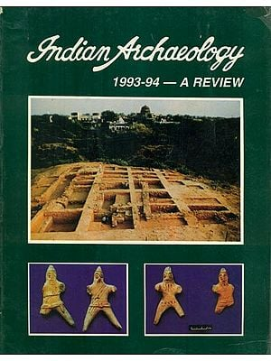 Indian Archaeology 1993-94 A Review (An Old and Rare Book)