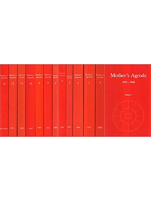 Mother's Agenda- 1951-1973 (Set of 13 Volumes)