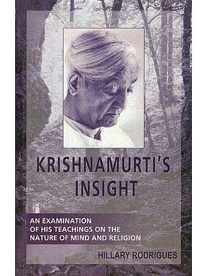 Krishnamurti's Insight