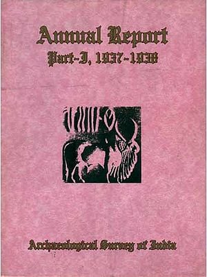 Annual Report - Part-I, 1937 to 1938