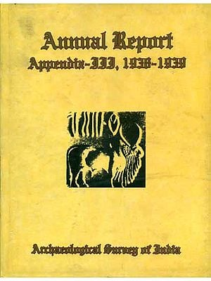 Annual Report Appendix - III, 1938-1939