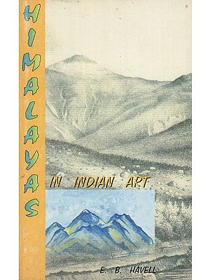 Himalayas in Indian Art (An Old Book)