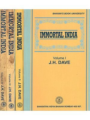 Immortal India- Set of 3 Volumes (An Old and Rare Book)