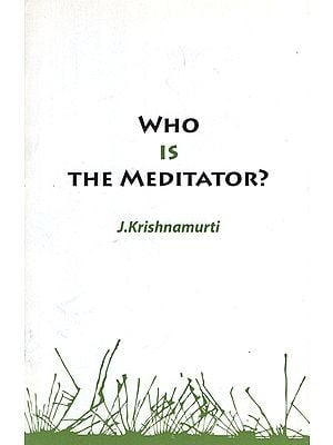 Who is the Meditator?