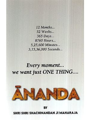 Ananda- Every Moment We Want Just One Thing
