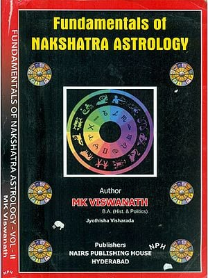 Fundamentals of Nakshatra Astrology - Set of 2 Volumes