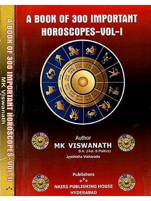 A Book of 300 Important Horoscopes (Set of Two Volumes)