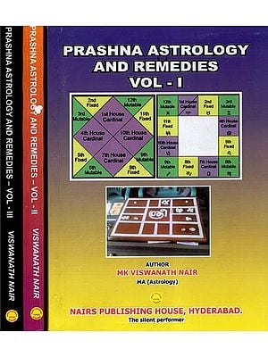 Prashna Astrology and Remedies (Set of Three Volumes)