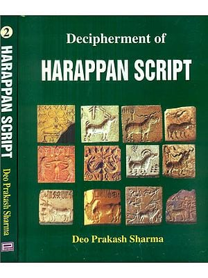 Decipherment of Harappan Script (Set of 2 Volumes)