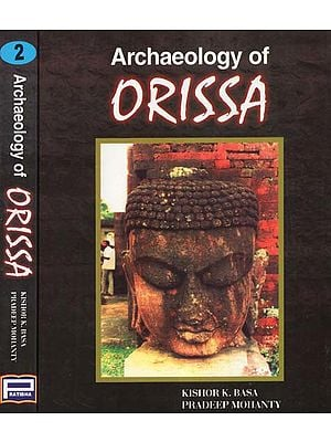 Archaeology of Orissa (Set of Two Volumes)