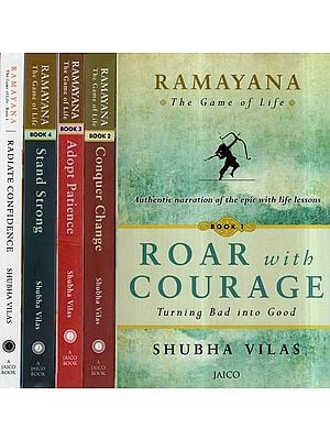 Ramayana- The Game of Life (An Epic With Life Lessons in A Set of 5 Books)