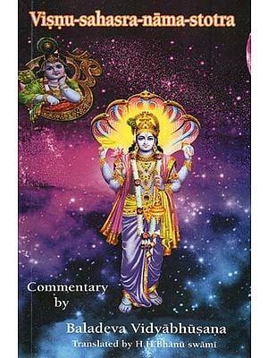 Visnu-Sahasra-Nama-Stotra Commentary By Baladeva Vidyabhusana