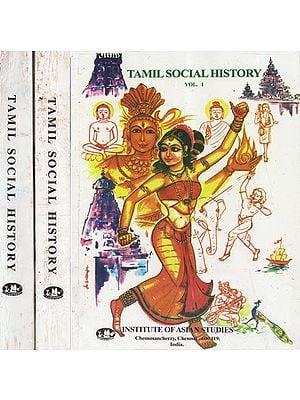 Tamil Social History- Set of Three Volumes (An Old and Rare Book)