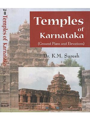 Temples of Karnataka- Ground Plans and Elevations (Set of Two Volumes)