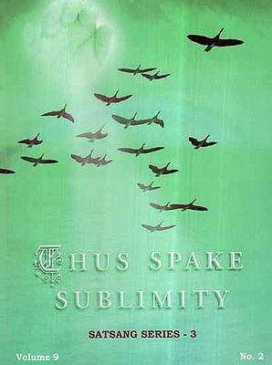 Thus Spake Sublimity- Satsang Series 3 (Vol-IX)