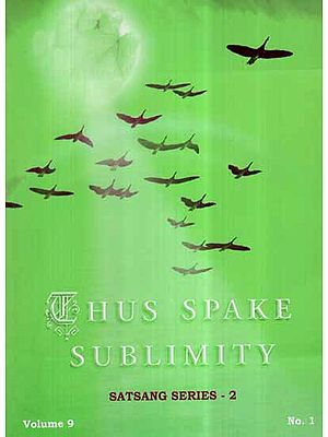 Thus Spake Sublimity- Satsang Series 2 (Vol-IX)