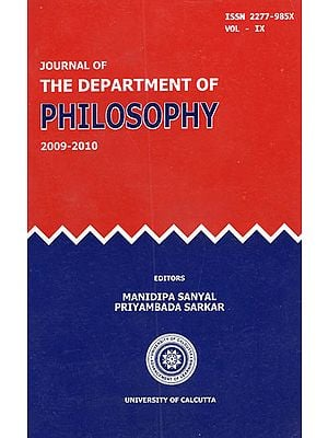 Journal of the Department of Philosophy: Vol- IX (2009-2010)