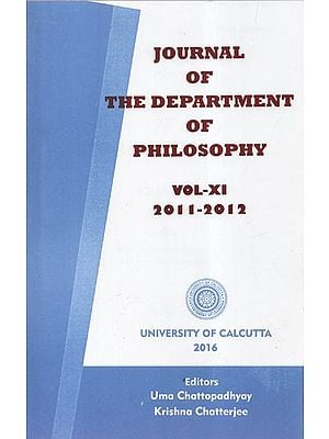 Journal of the Department of Philosophy: Vol- XI (2011-2012)