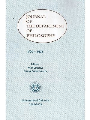 Journal of the Department of Philosophy: Vol- VIII (2008-2009)