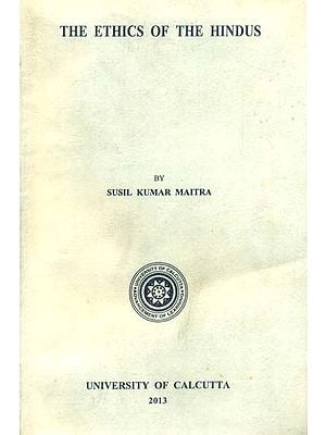 The Ethics of The Hindus (An Old and Rare Book)