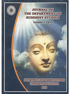 Journal of the Department of Buddhist Studies: Vol-1, 2016