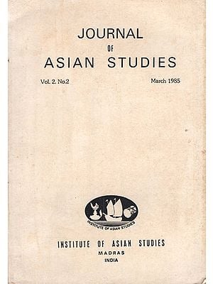 Journal of Asian Studies- Vol. 2, No.2- March 1985 (An Old and Rare Book)