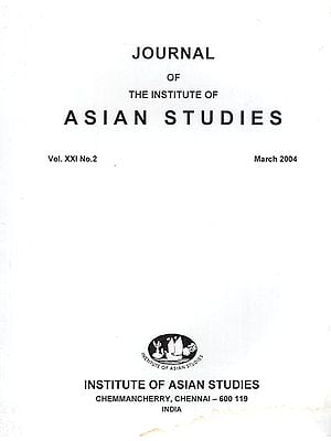 Journal of The Institute of Asian Studies- Vol. XXI, No.2- March 2004