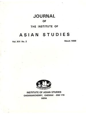 Journal of The Institute of Asian Studies- Vol. XVI, No. 2- March 1999 (An Old Book)