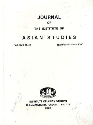 Journal of The Institute of Asian Studies- Vol. XVII, No. 2- Special Issue- March 2000 (An Old Book)
