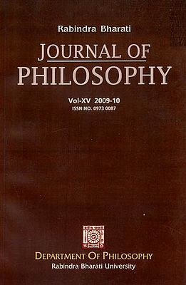 Rabindra Bharati Journal of Philosophy: Vol- XV, 2009- 10