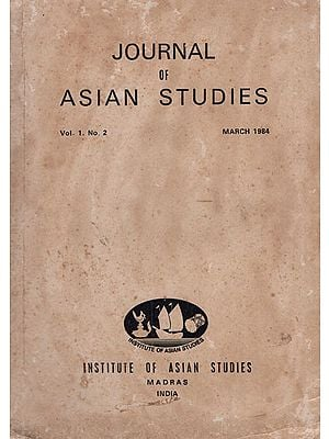 Journal of Asian Studies- Vol. 1 No. 2- March 1984 (An Old and Rare Book)