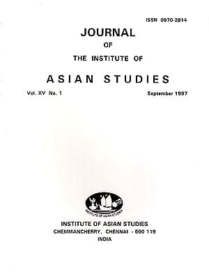 Journal of The Institute of Asian Studies Vol. XV No.1