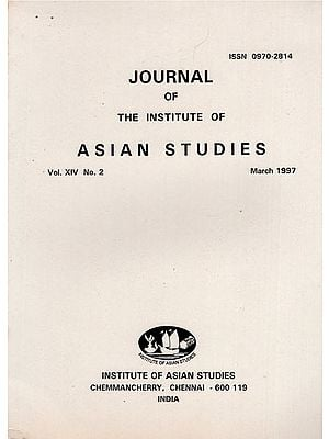 Journal of The Institute of Asian Studies- Vol. XIV, No. 2- March 1997 (An Old and Rare Book)