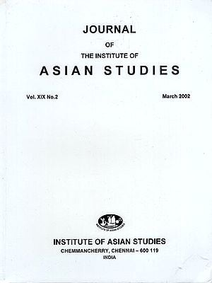 Journal of The Institute of Asian Studies- Vol. XIX, No. 2- March 2002 (An Old Book)