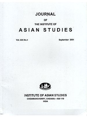 Journal of The Institute of Asian Studies- Vol. XIX , No. 1- September