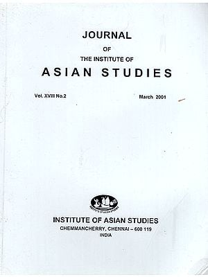 Journal of The Institute of Asian Studies- Vol. XVIII, No. 2- March 2001 (An Old Book)
