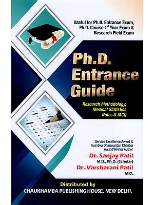 Ph.D. Entrance Guide (Research Methodology, Medical Statistics Notes & MCQ)