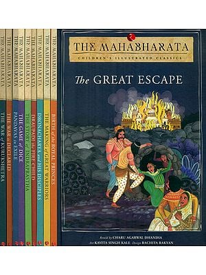 The Mahabharata - Children Illustrated Classics (Set of 10 Volumes)