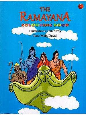 The Ramayana (Colouring Book)