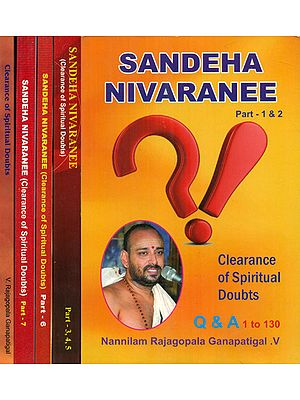Sandeha Nivaranee - Clearance of Spiritual Doubts (Set of 5 Books)