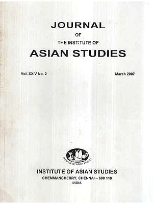 Journal of The Institute of Asian Studies- Vol. XXIV, No. 2- March 2007